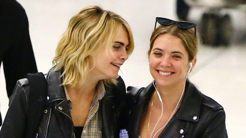 Cara Delevingne und Ashley Benson im Juni 2019