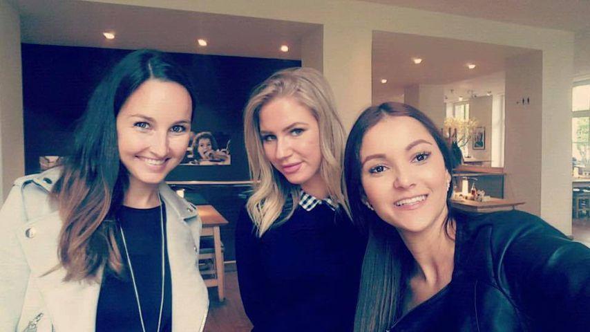 Cara, Chloé und Kattia, ehemalige Bachelor-Kandidatinnen