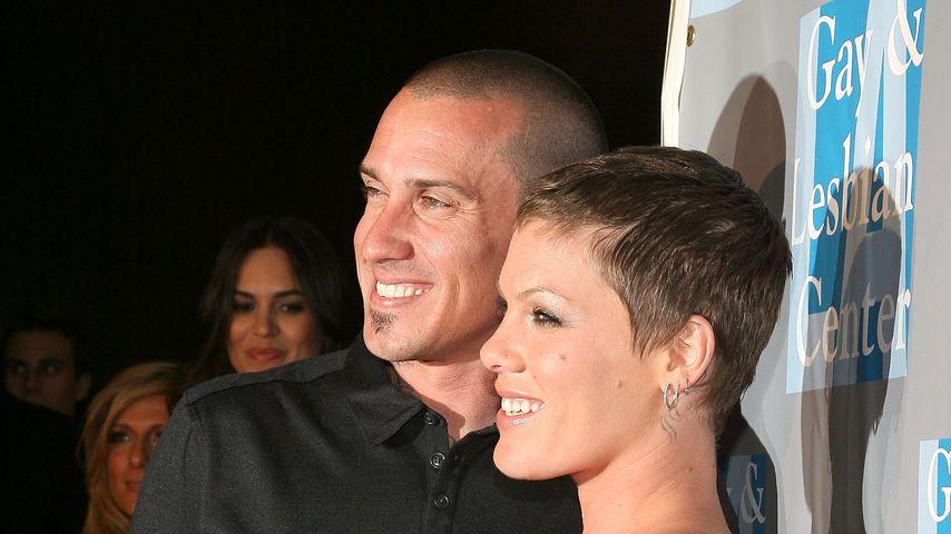 Carey Hart und Pink im Mai 2010
