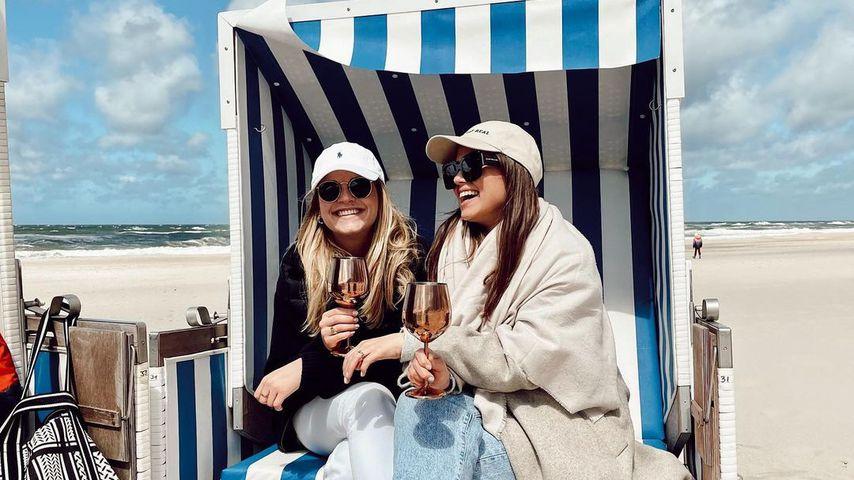 Carina Koller und Sharon Berlinghoff
