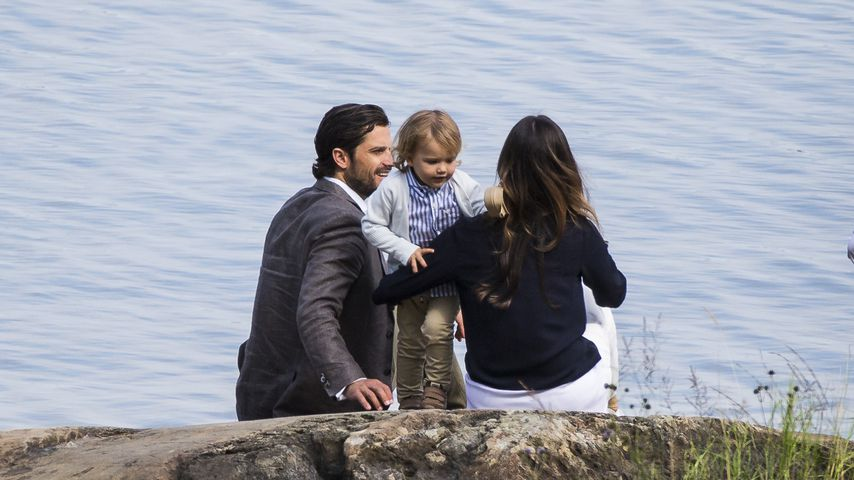 Prinz Carl Philip und seine Sofia mit Prinz Alexander