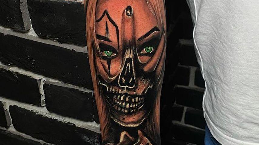 Carl Woods' Katie-Price-Tattoo