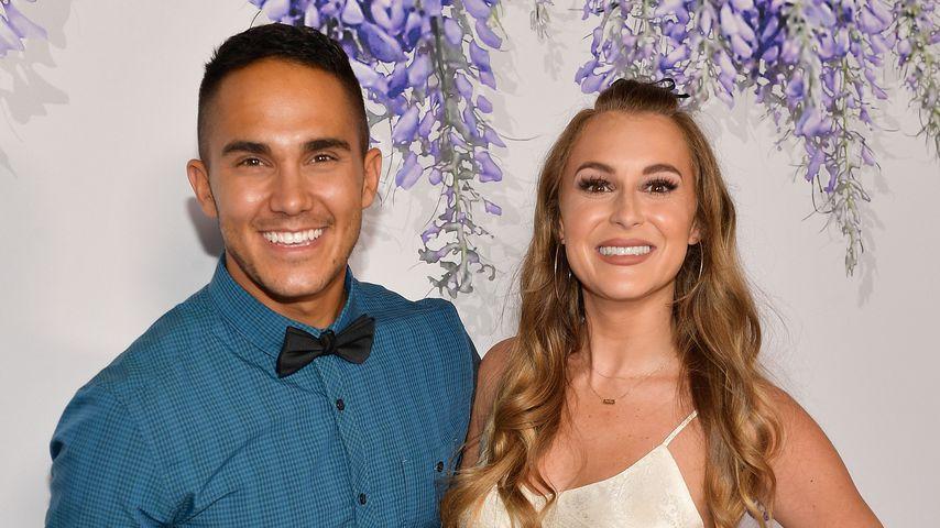 Carlos Pena und Alexa Vega beim Hallmark Channel Summer TCA 2018