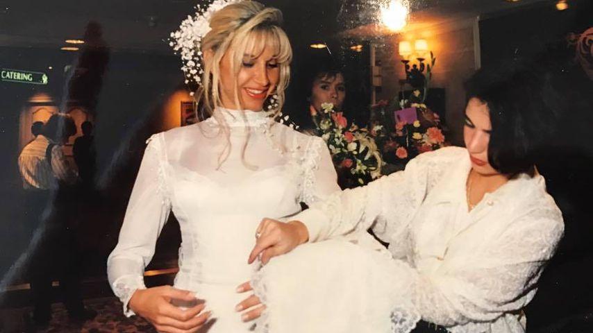 Carmen Geiss bei ihrer Hochzeit 1994