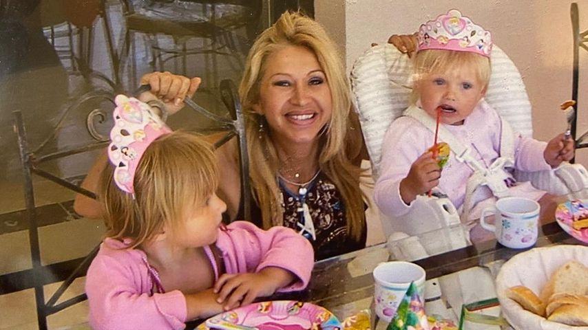 Carmen Geiss mit Davina und Shania