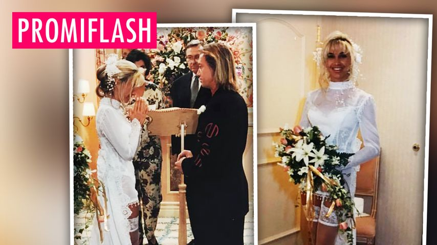 Heiß, Mrs. Geiss! DAS war Carmens Hochzeitskleid 1994