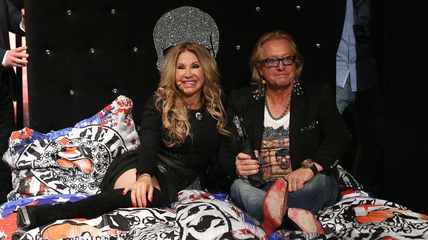 Carmen und Robert Geiss bei einer Produktveröffentlichung der Marke Roberto Geissini