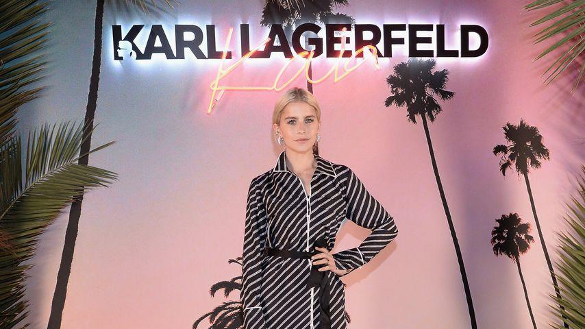 Caro Daur bei der Paris Fashion Week
