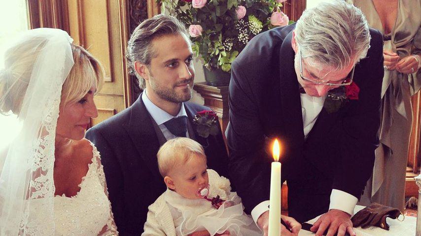 Caroline Beil und Philipp Sattler bei ihrer Hochzeit 2018