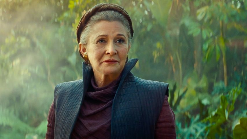 "Carrie Fisher als Leia Organa in ""Star Wars: Der Aufstieg Skywalkers"""