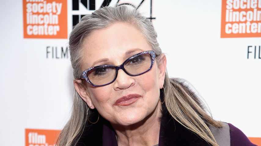 Carrie Fisher in New York