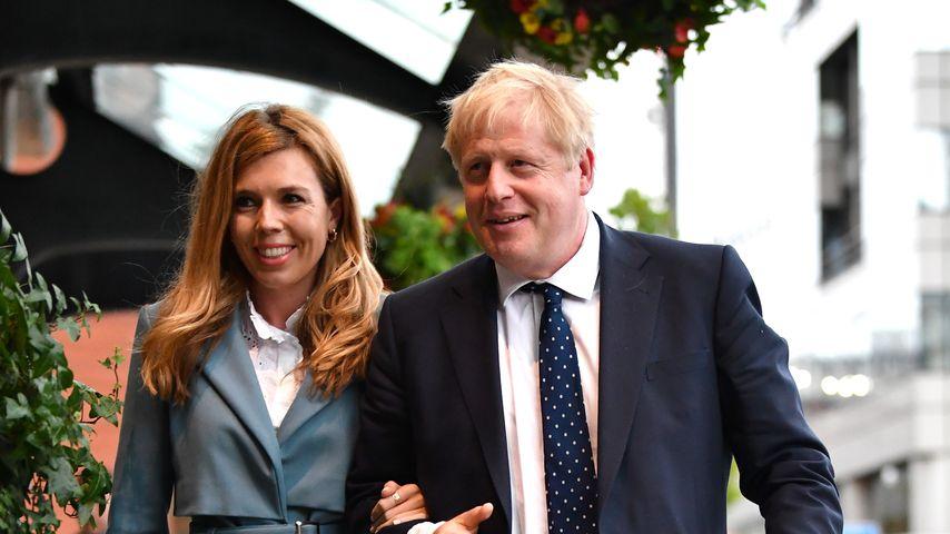 Drittes Mal: Premierminister Boris Johnson hat geheiratet
