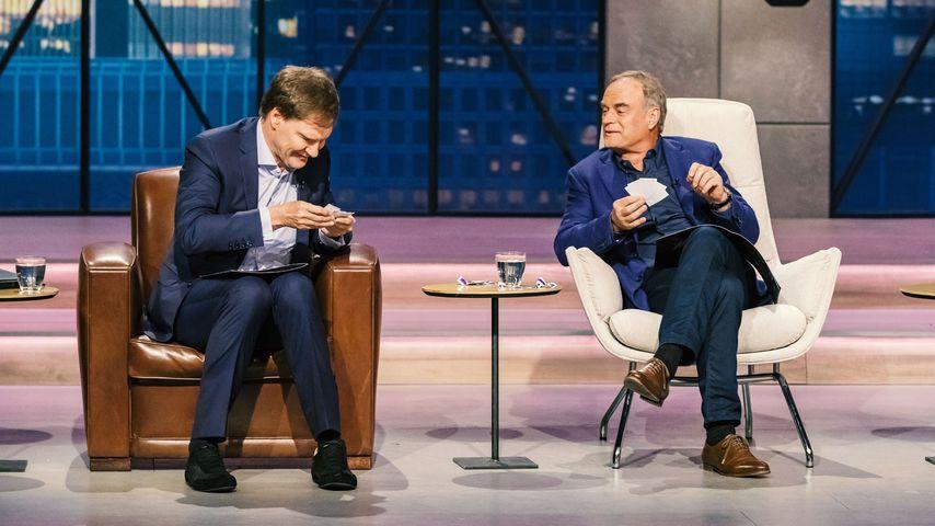 """Carsten Maschmeyer und Dr. Georg Kofler bei """"Die Höhle der Löwen"""""""