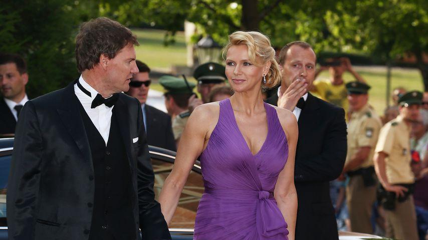 Unternehmer Carsten Maschmeyer und Schauspielerin Veronica Ferres 2013 in Bayreuth
