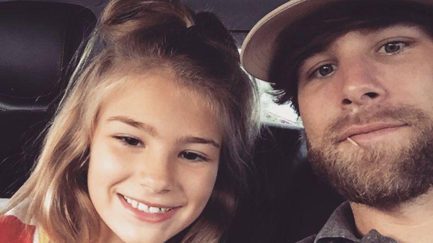 Casey Aldridge (r) mit seiner Tochter Maddie
