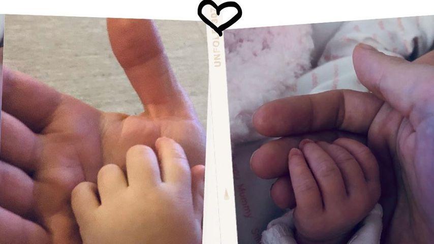 Casey Batchelors Baby-Verkündung