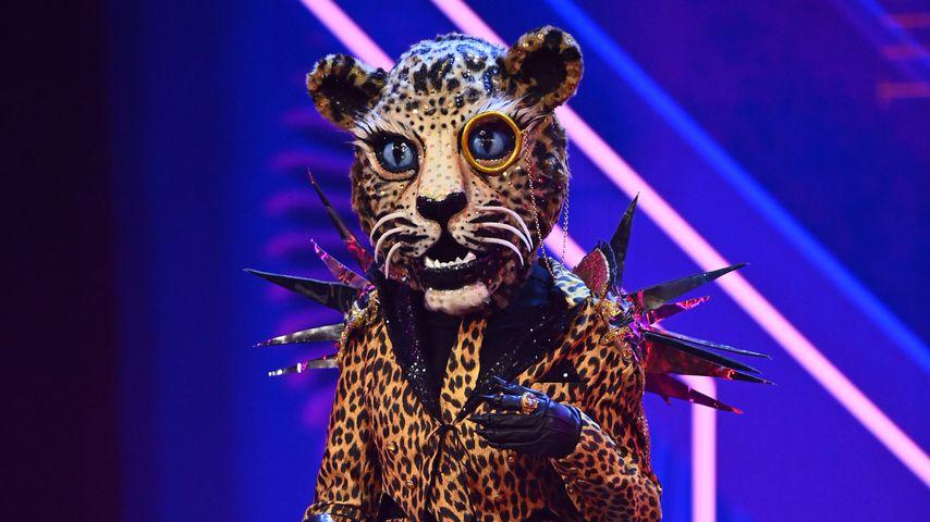 """Cassandra Steen als Leopard bei """"The Masked Singer"""""""
