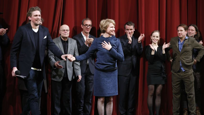 """Cast und Crew von """"Lara"""" bei der Berlin-Premiere im Oktober 2019"""