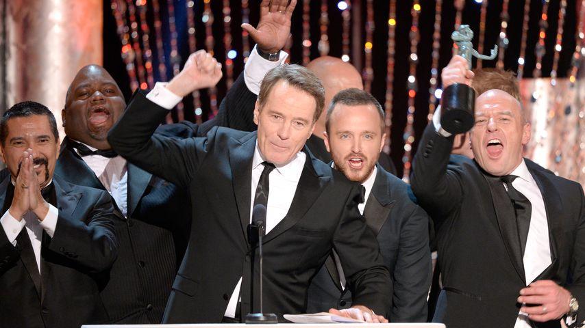 "Cast von ""Breaking Bad"" bei den 20th Annual Screen Actors Guild Awards"