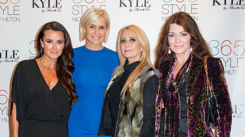 """The Real Housewives of Beverly Hills""; Kyle und Kim Richards, Yolanda Hadid, Lisa Vanderpump"