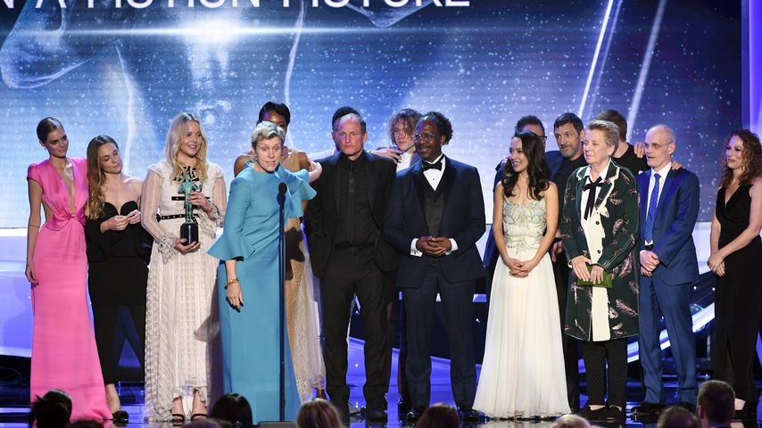 """Cast von """"Three Billboards Outside Ebbing, Missouri"""" bei den SAG Awards 2018"""