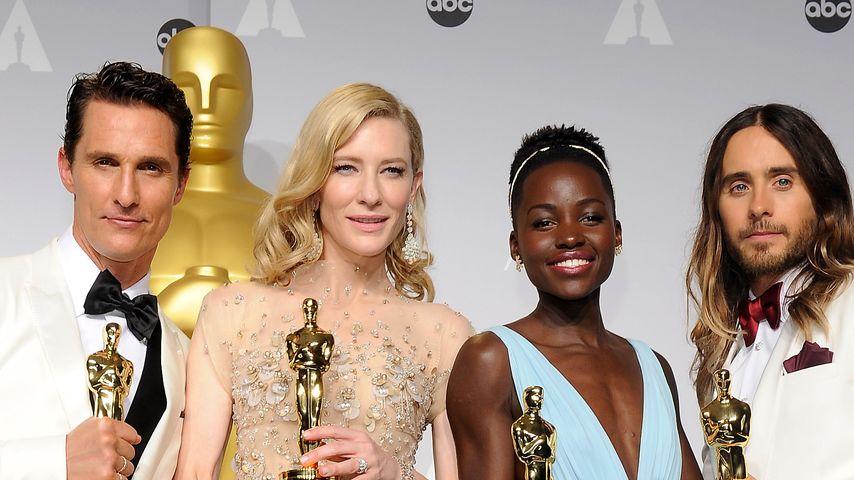 Oscar 2014: DAS sind die diesjährigen Gewinner!