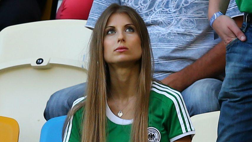 Cathy Hummels bei der EM 2012 in der Ukraine