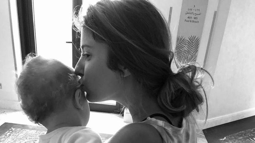 """Liebe meines Lebens"": Cathy Hummels' süße Erklärung an Baby"