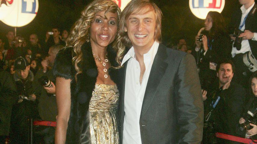 Cathy Lobé und David Guetta bei den NRJ Music Awards 2007