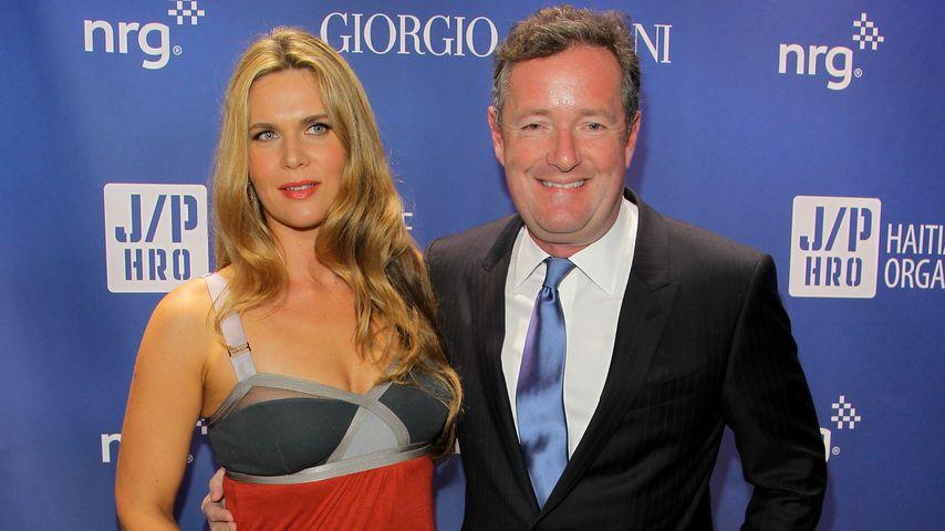 Celia Walden mit Gatte Piers Morgan bei einer Benefiz-Gala