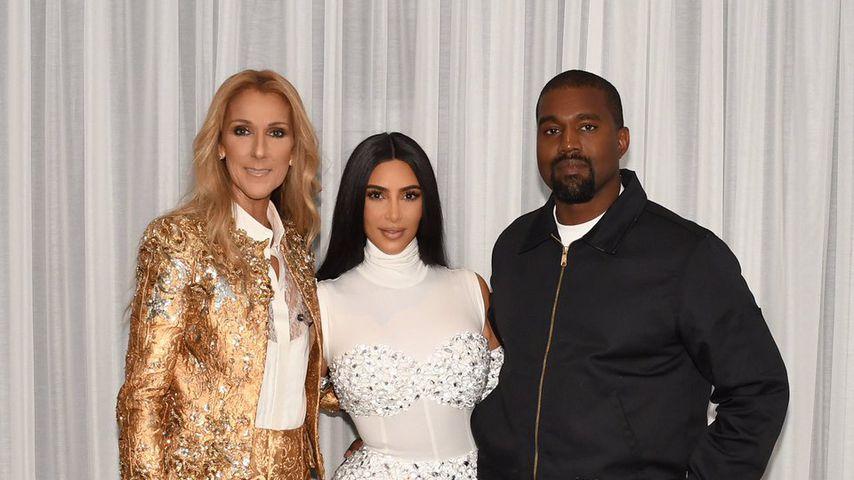 Celine Dion, Kim Kardashian und Kanye West