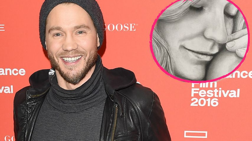 1. Mama-Tochter-Pic: Chad Michael Murray im Familienglück