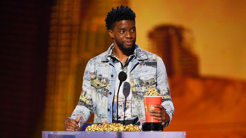 Chadwick Boseman bei den MTV Movie & TV-Awards