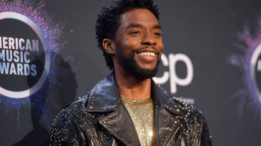 Chadwick Boseman bei den American Music Awards in L.A. im November 2019
