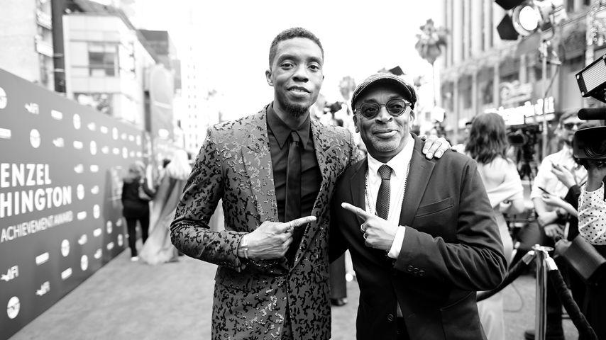 Chadwick Boseman und Spike Lee 2019