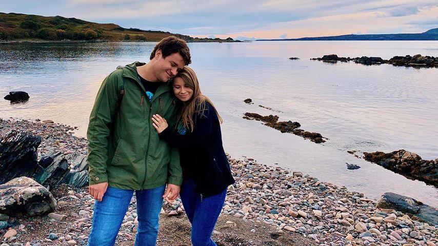 Chandler Powell und Bindi Irwin im Dezember 2019