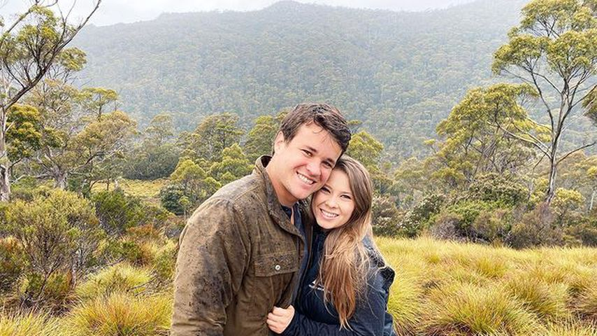 Chandler Powell und Bindi Irwin im Februar 2021