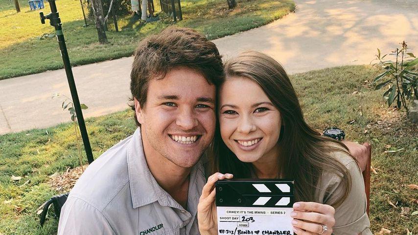 Chandler Powell und Bindi Irwin im September 2019