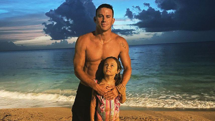 Channing Tatum mit seiner Tochter Everly