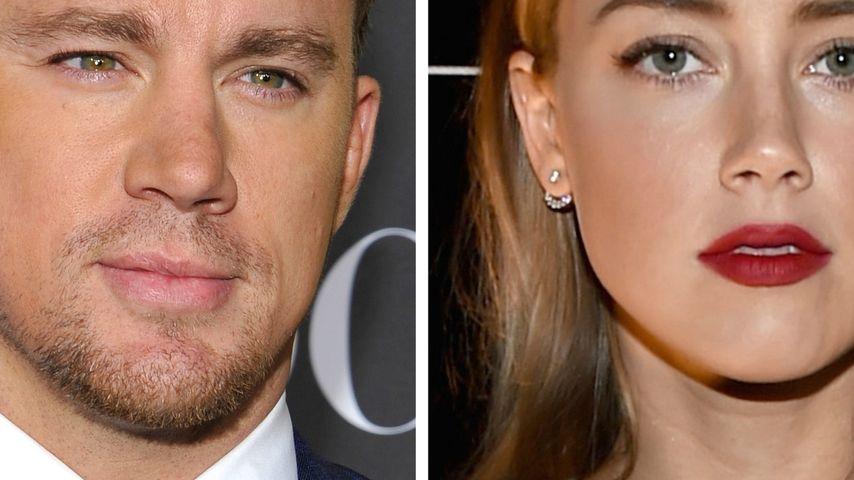 Channing Tatum: Heißer Flirt mit Amber Heard?