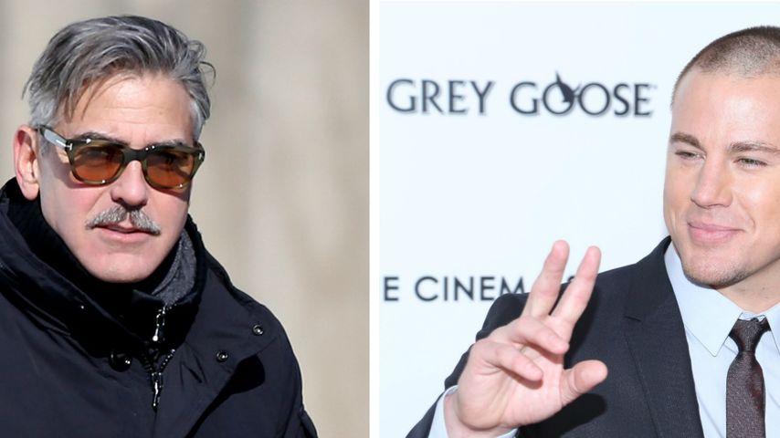 Channing Tatum hätte gerne Sex mit George Clooney