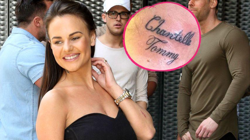 """Ex-""""Geordie Shore""""-Chantelle: Liebes-Tattoo nach einer Woche"""