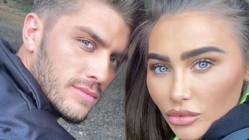 Charles Drury und Lauren Goodger im November 2020