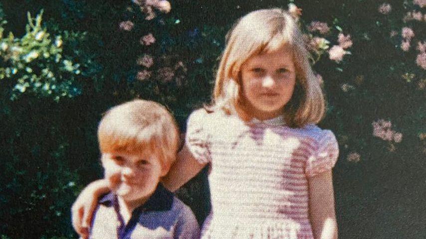 Charles Spencer und Prinzessin Diana in jungen Jahren