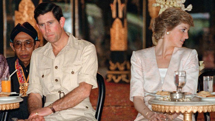 Prinz Charles und Prinzessin Diana in Indonesien, 1989