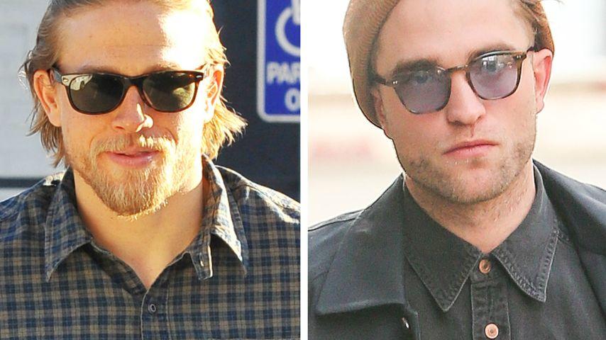 Sexy Duo! Charlie Hunnam dreht mit Rob Pattinson