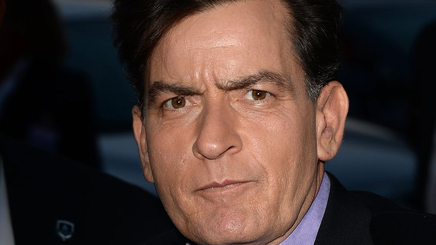 Charlie Sheen im April 2013 in Hollywood