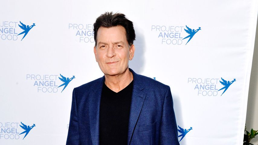 Charlie Sheen bei einer Benefiz-Auktion in Los Angeles, Juli 2018