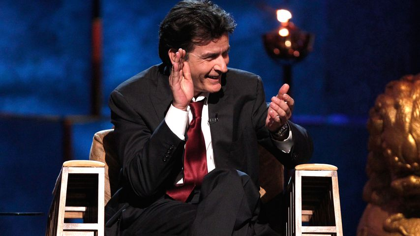 "Charlie Sheen, ""Two And A Half Men""-Star"