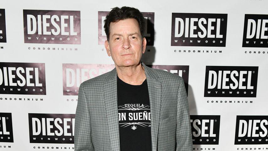 Charlie Sheen im Dezember 2019